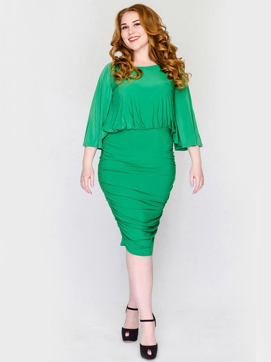 Платье зеленое | 2317506 | фото 2