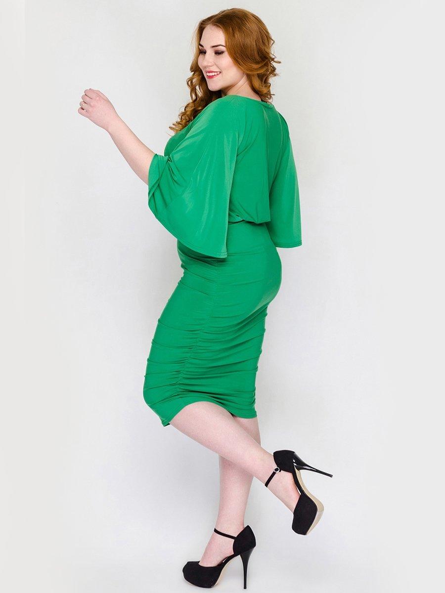 Платье зеленое | 2317506 | фото 3