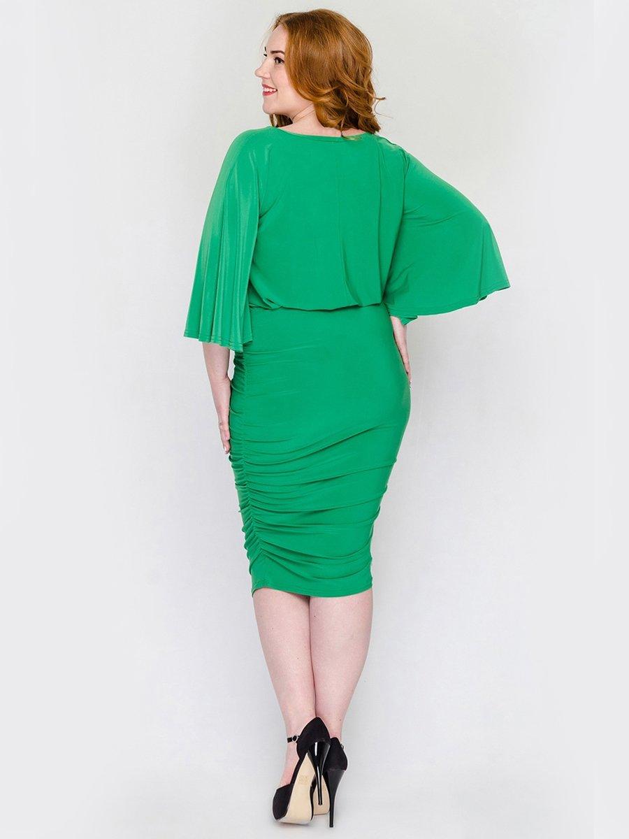 Платье зеленое | 2317506 | фото 4