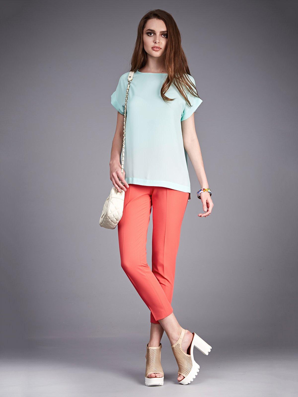 Блуза бирюзовая | 2318480