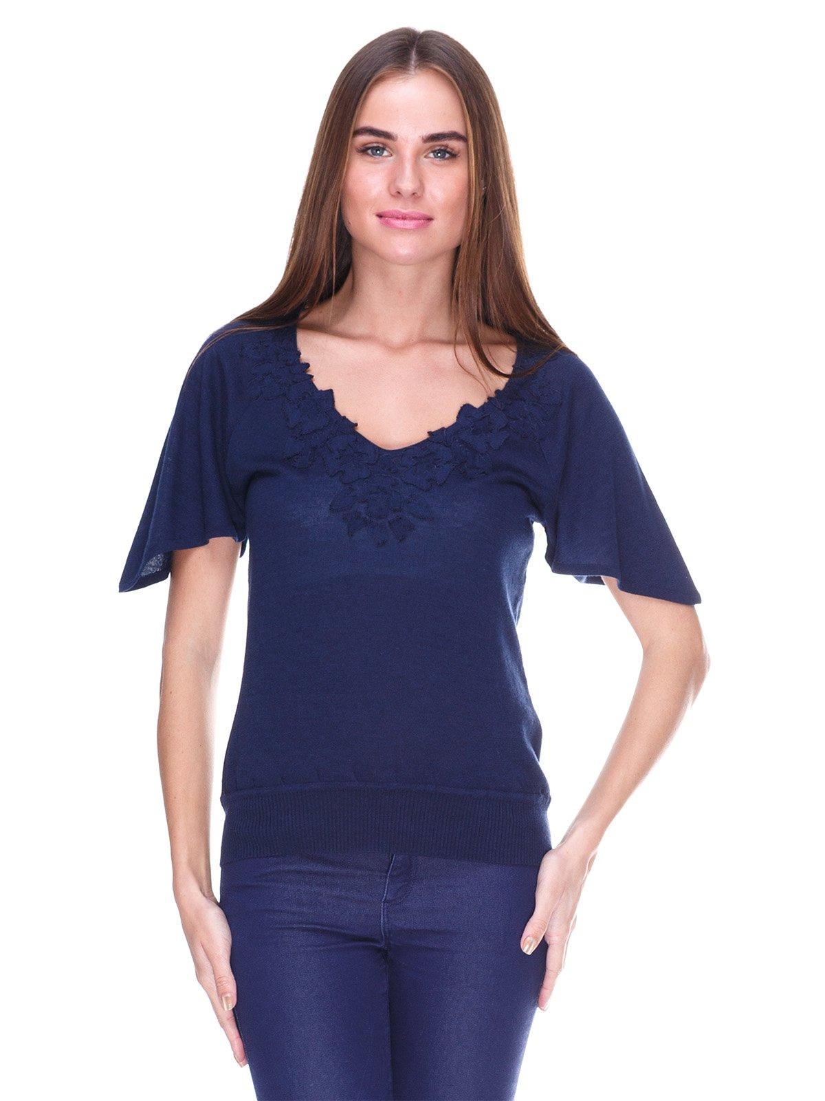 Блуза синяя | 2316410