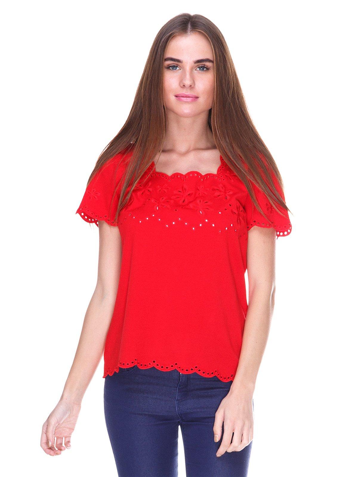 Блуза красная | 2316406