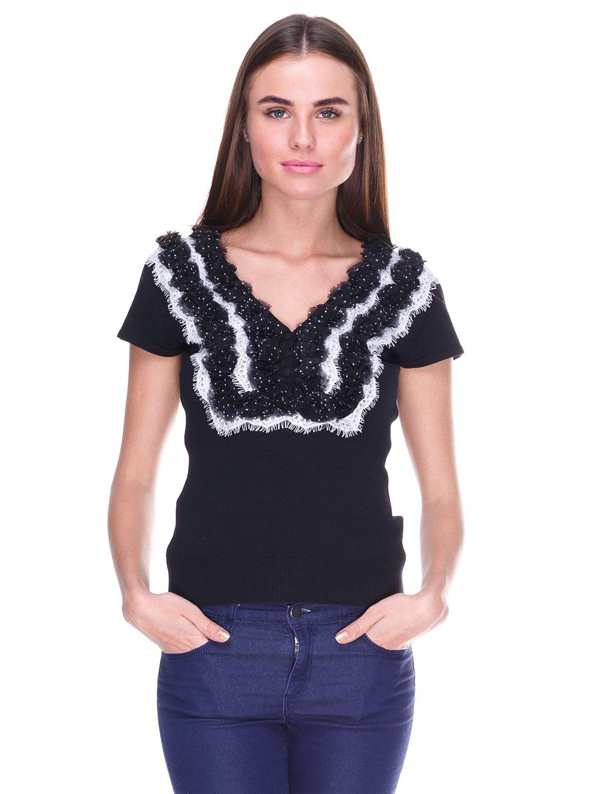 Блуза чорна | 2316392