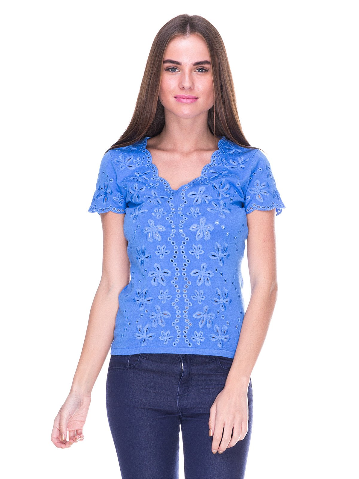Блуза голубая | 2316405