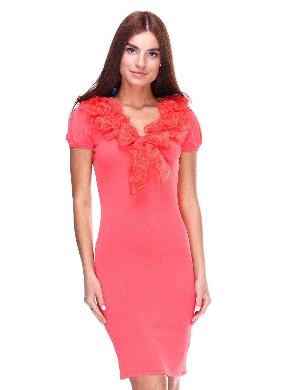 Платье коралловое   2316446