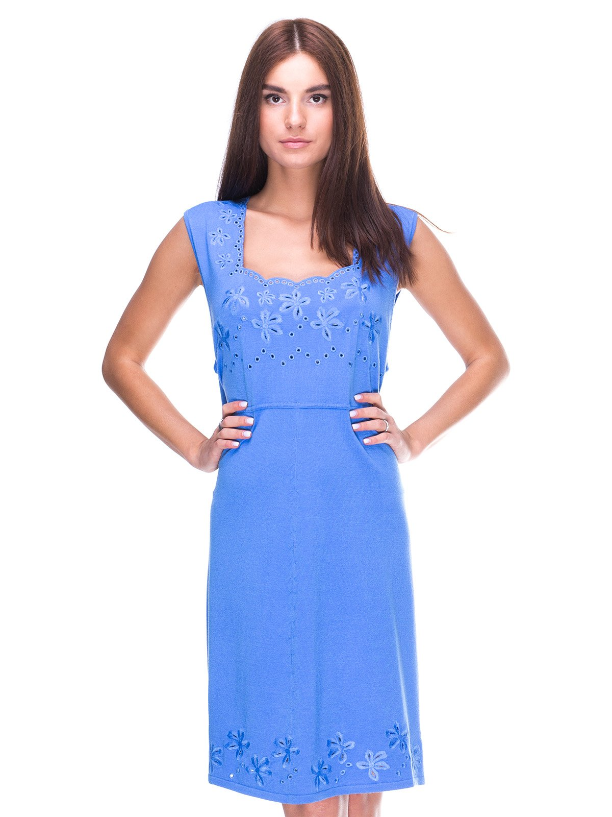 Платье голубое | 2316433