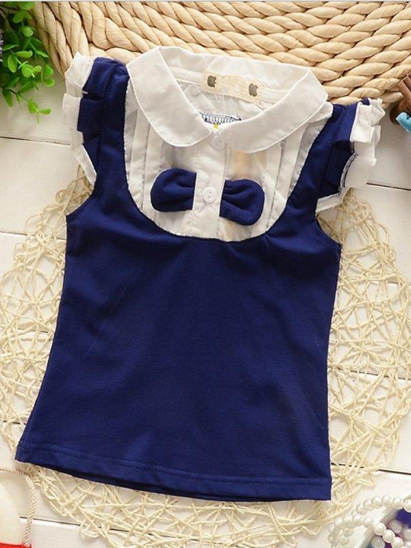 Блуза синьо-біла | 2321439