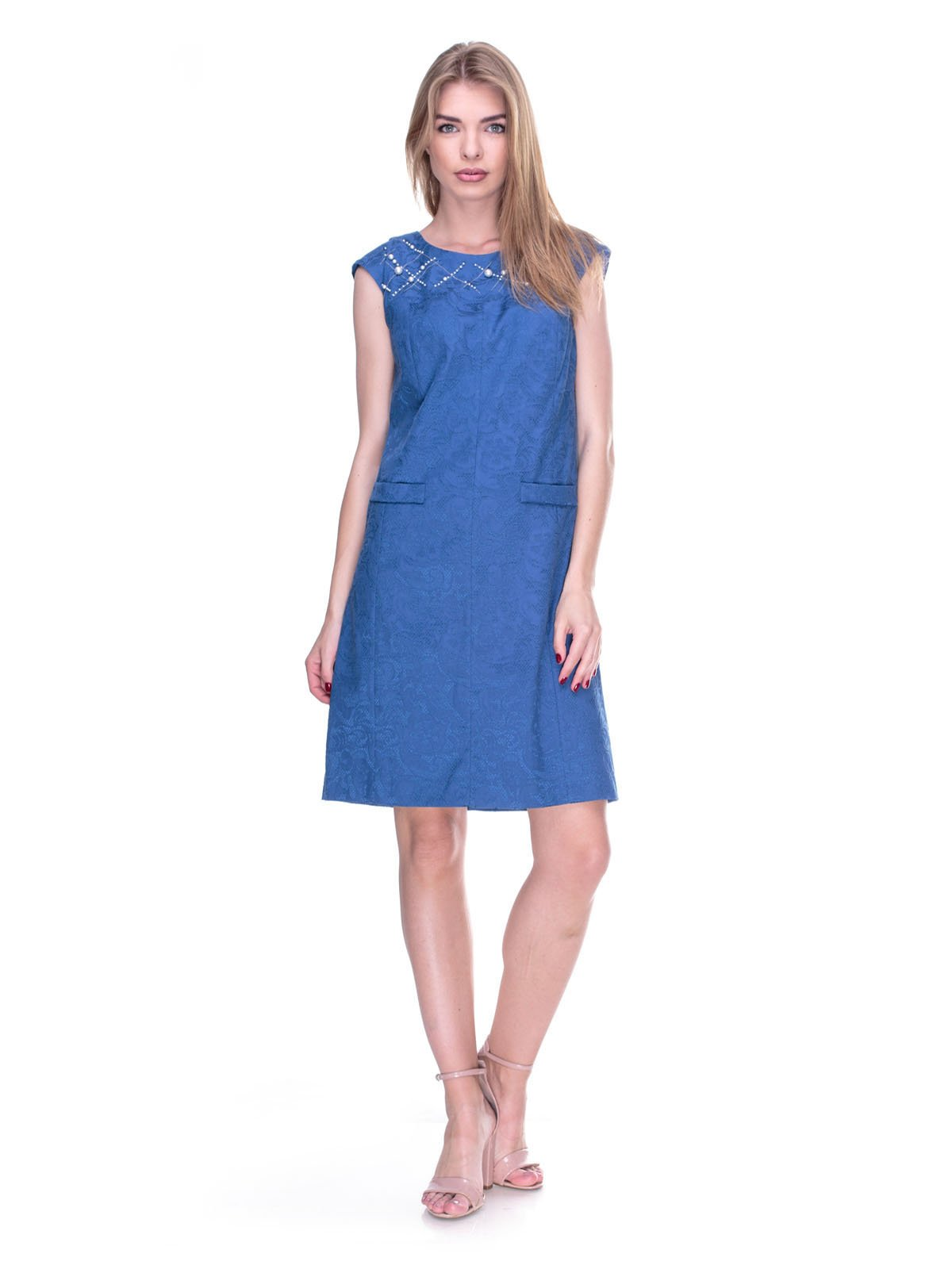 Платье синее   2317088