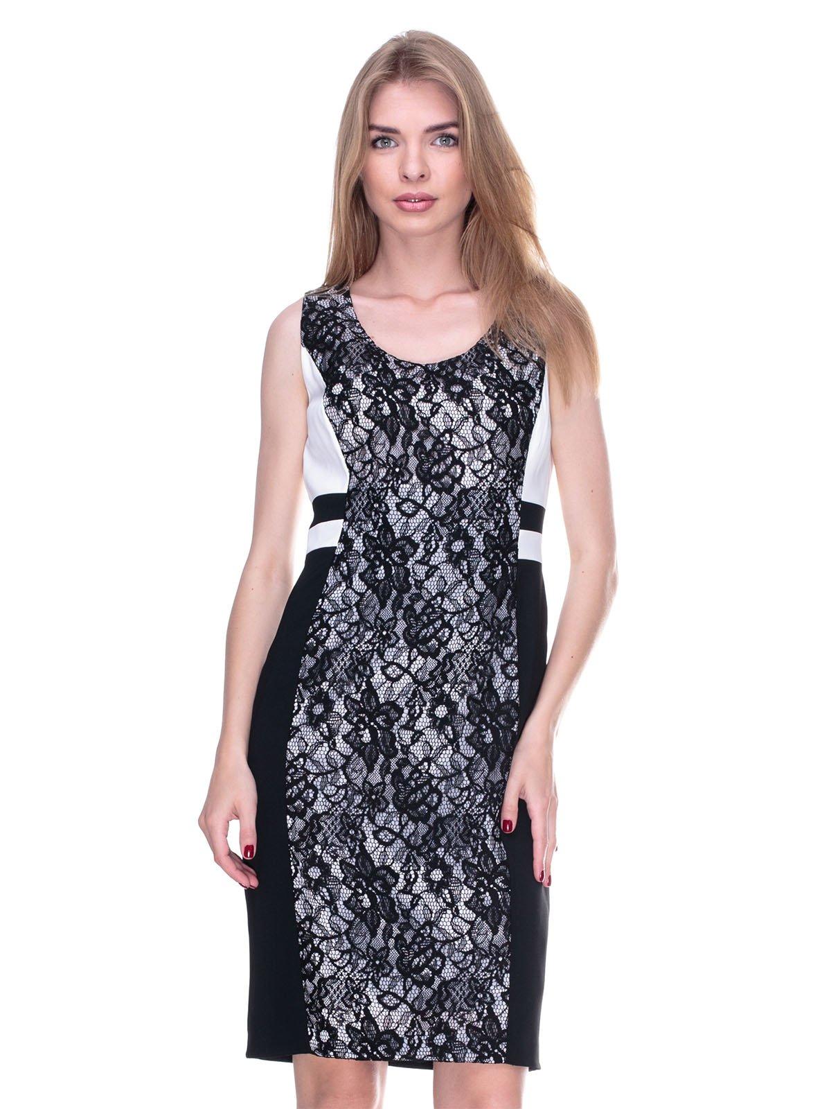 Платье черно-белое | 2317087