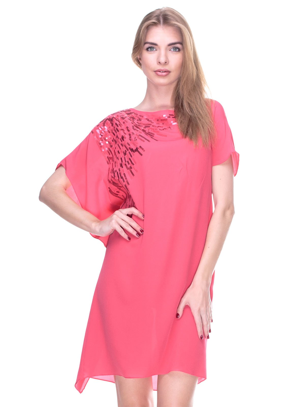 Сукня коралова | 2317103