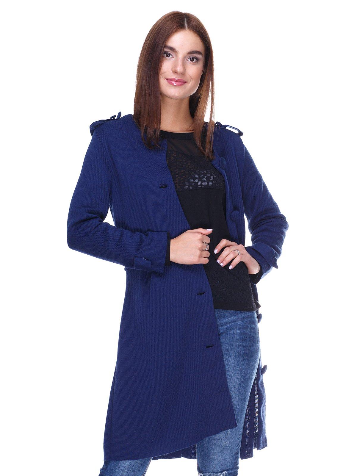 Пальто синее | 2324781