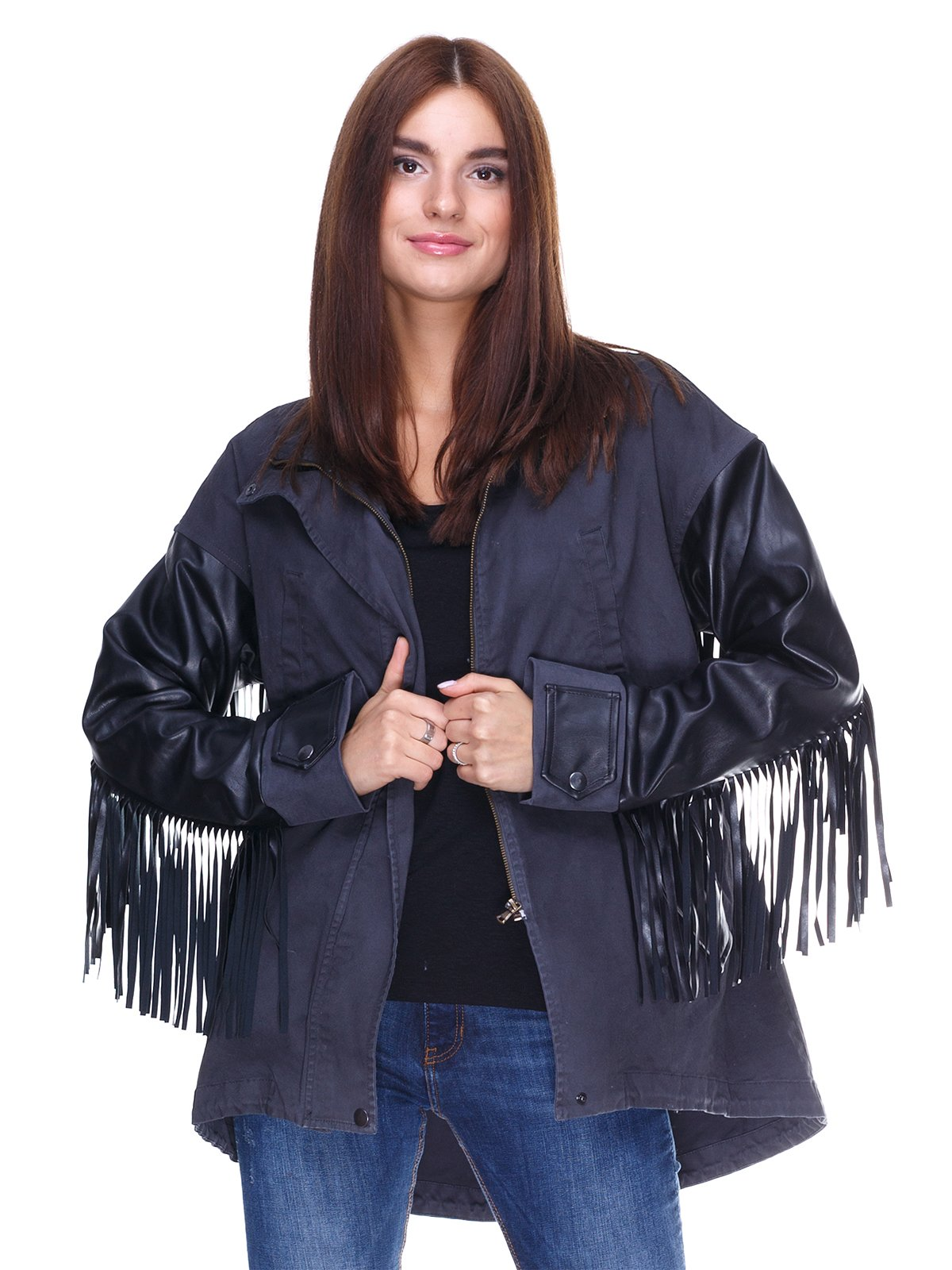 Куртка двухцветная   2324796