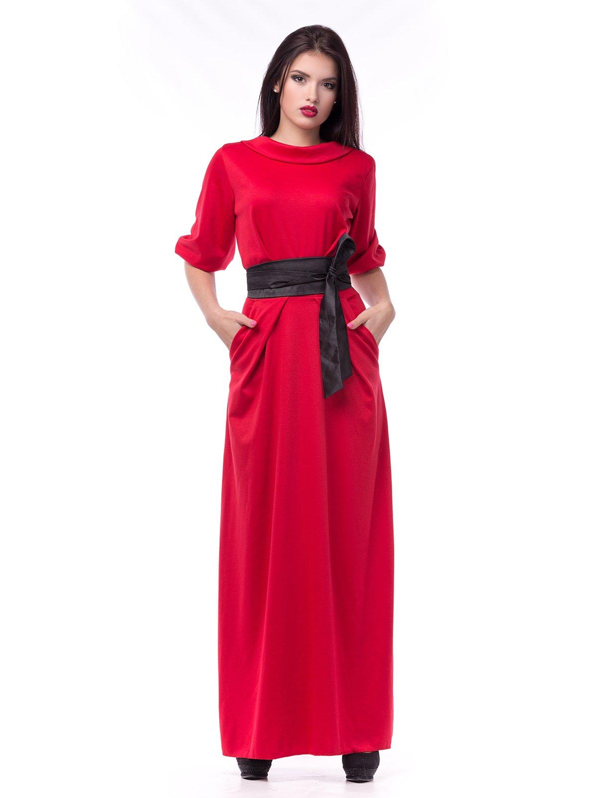 Платье красное | 2335892