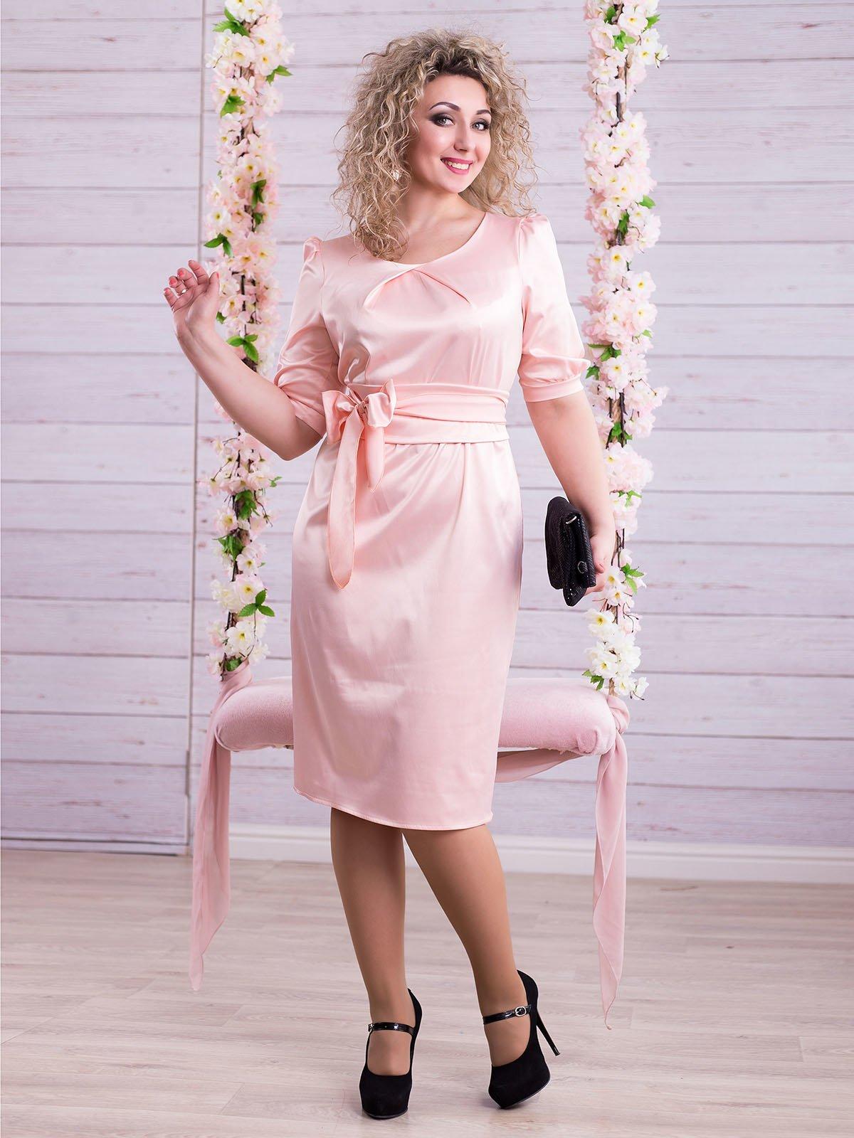 Сукня персикового кольору | 2345673