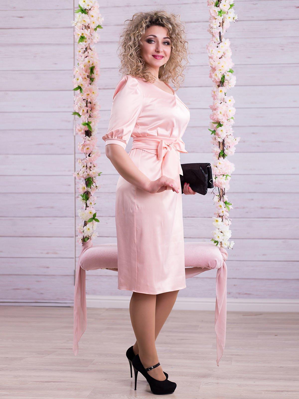Сукня персикового кольору | 2345673 | фото 2