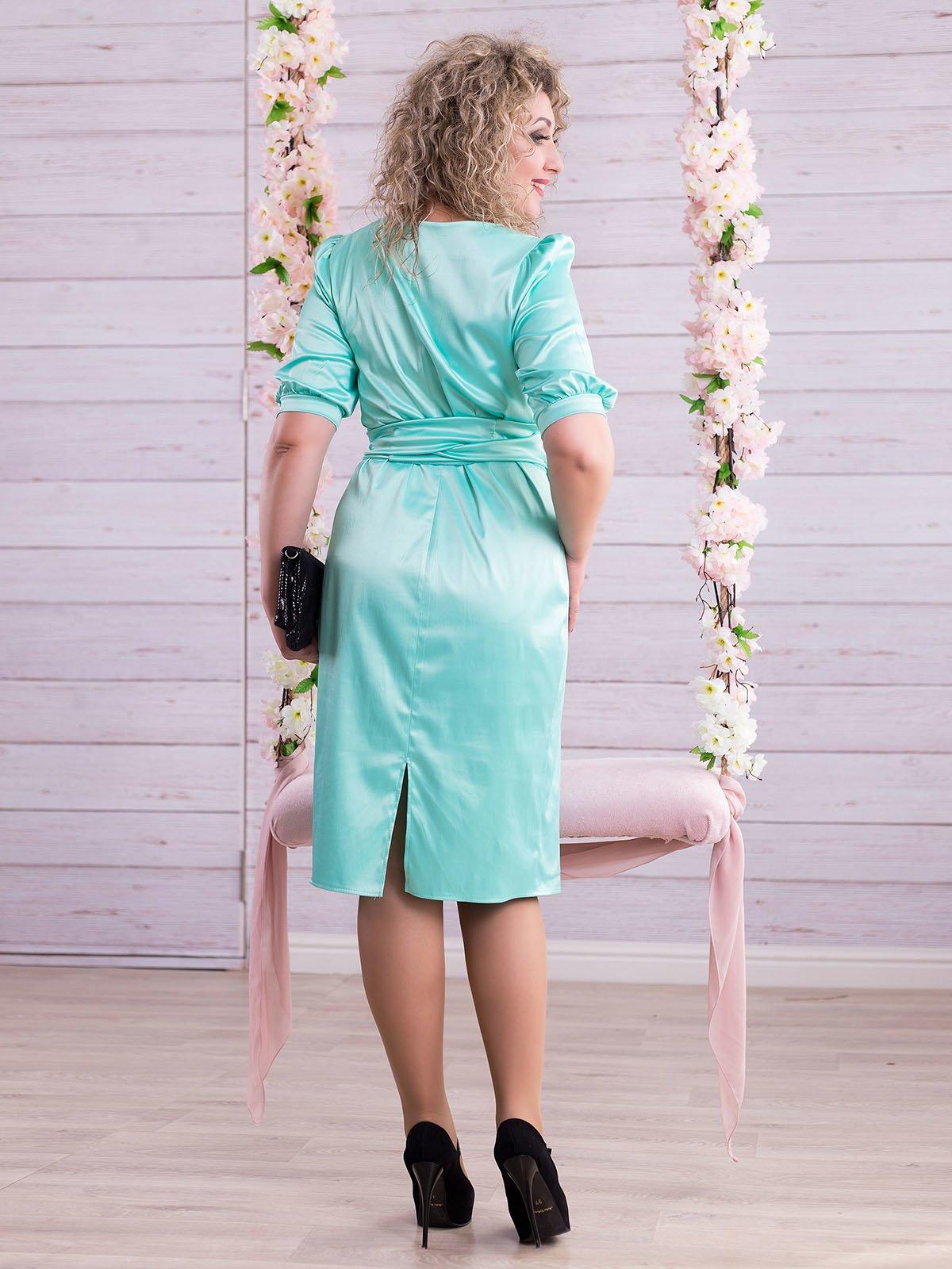 Сукня м'ятного кольору   2345675   фото 3