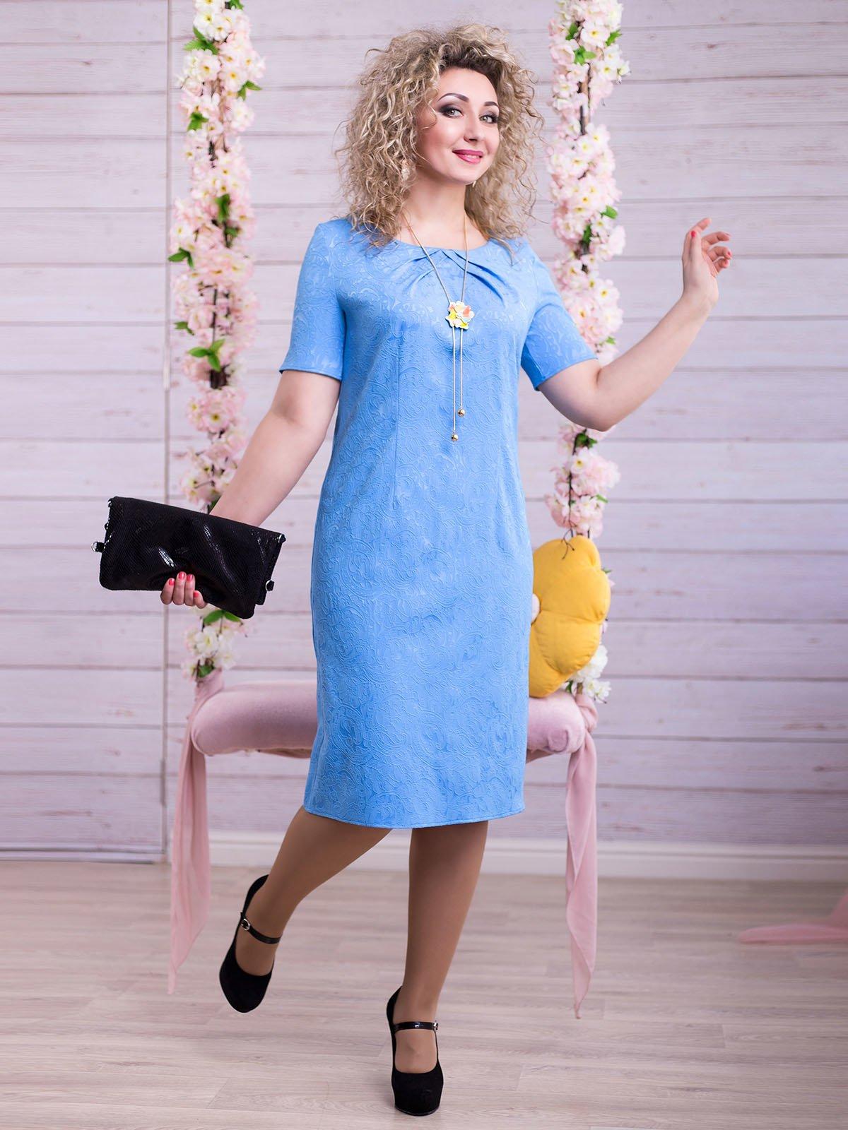 Сукня блакитна   2345682