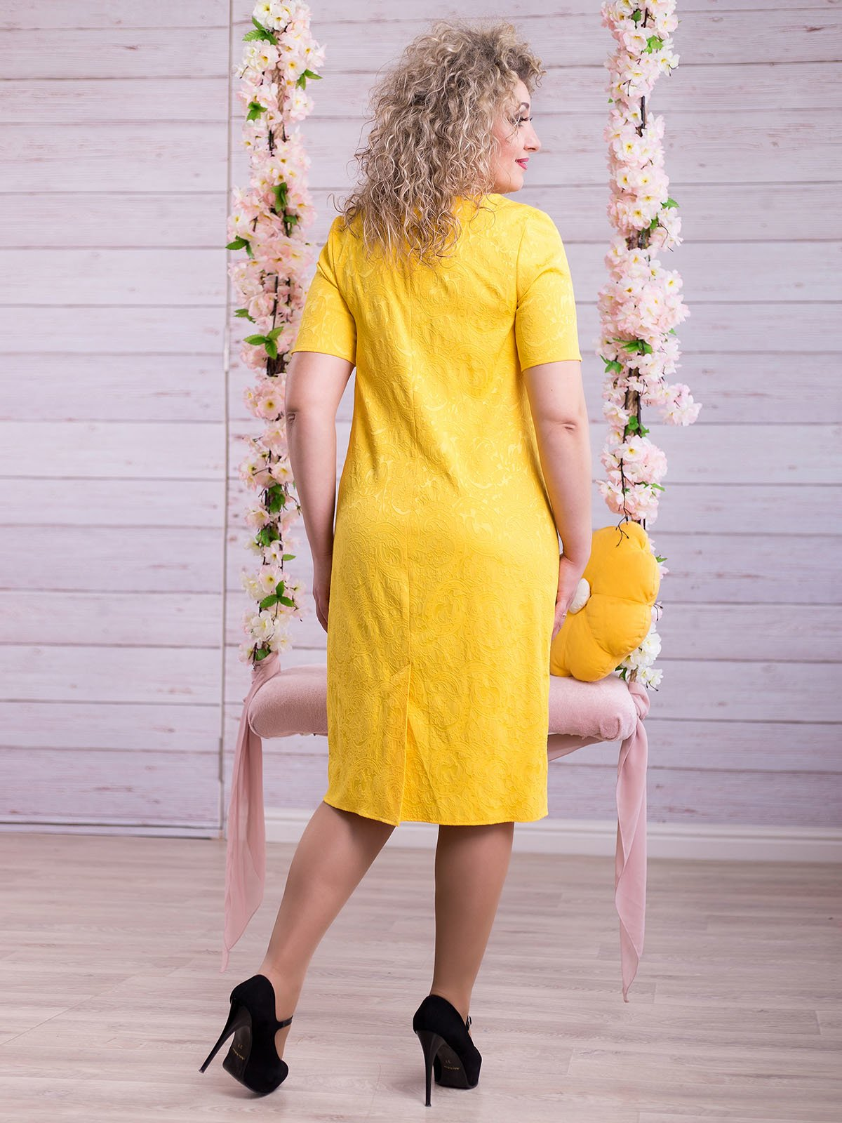 Сукня жовта | 2345683 | фото 3