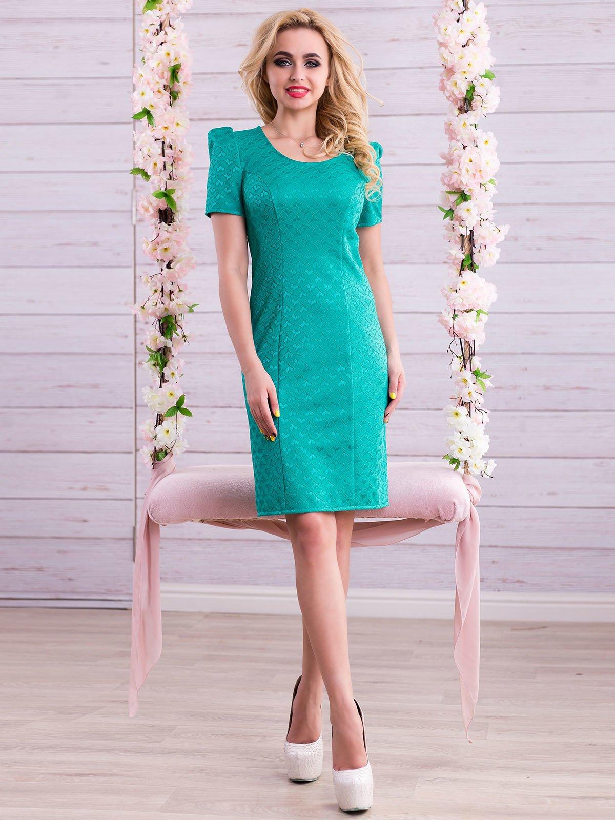 Платье зеленое | 2345688