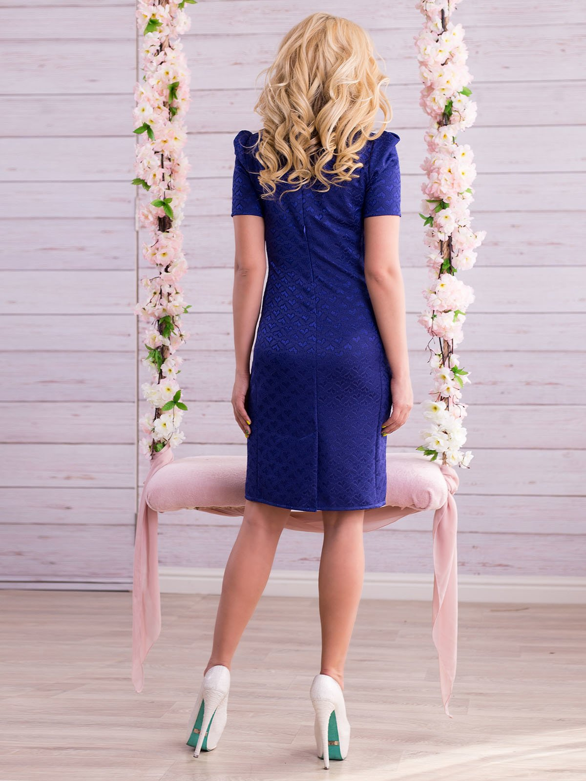 Платье цвета электрик   2345689   фото 3