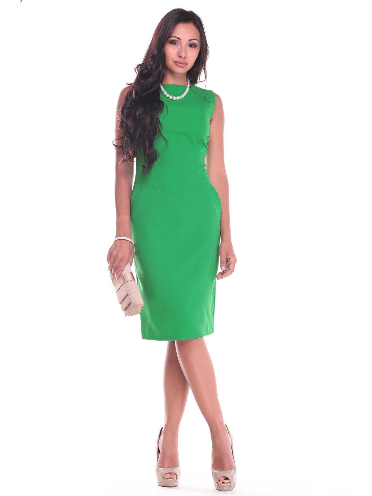 Платье зеленое | 2363184