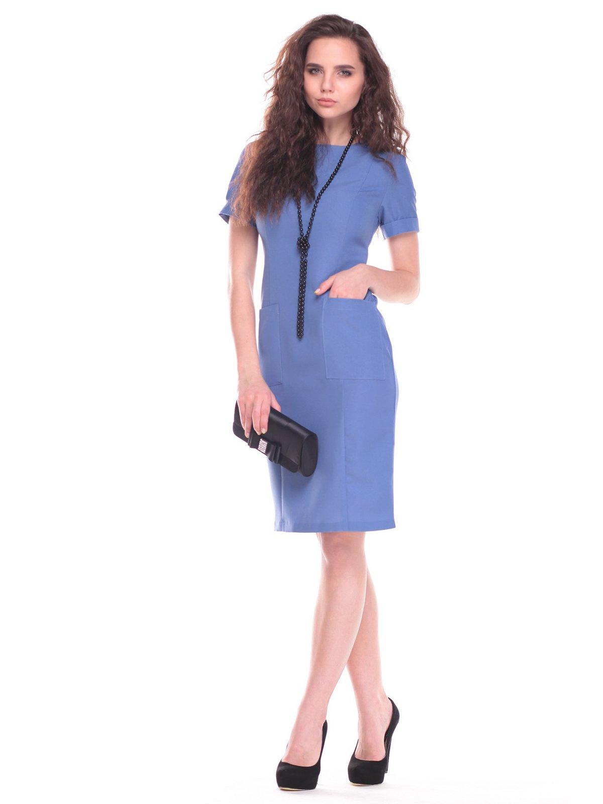 Платье цвета джинс | 2363193