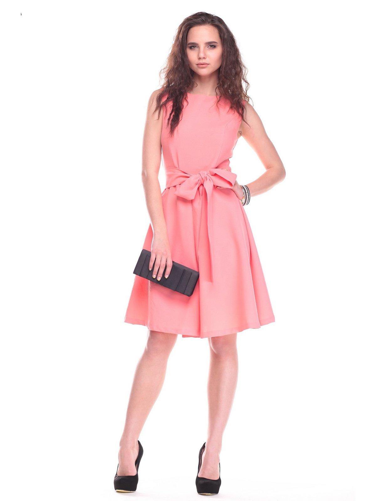 Платье темно-персикового цвета | 2363259