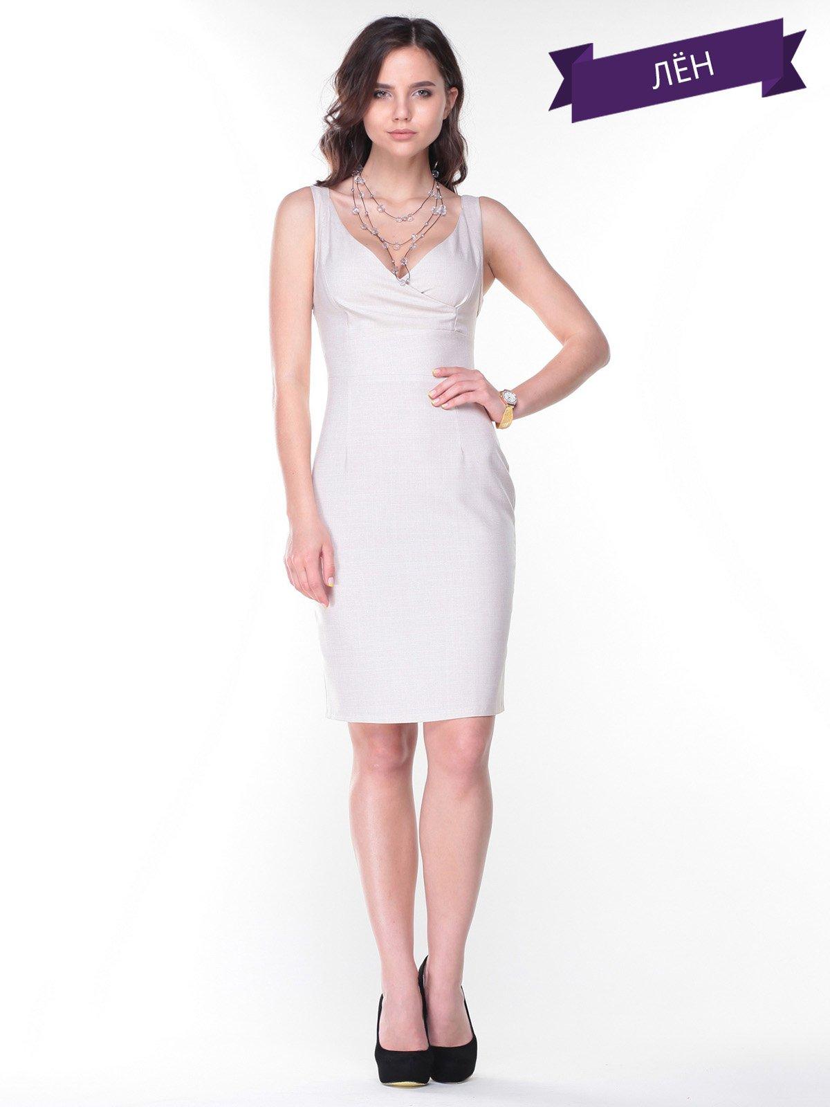 Сукня світло-бежева | 2345591