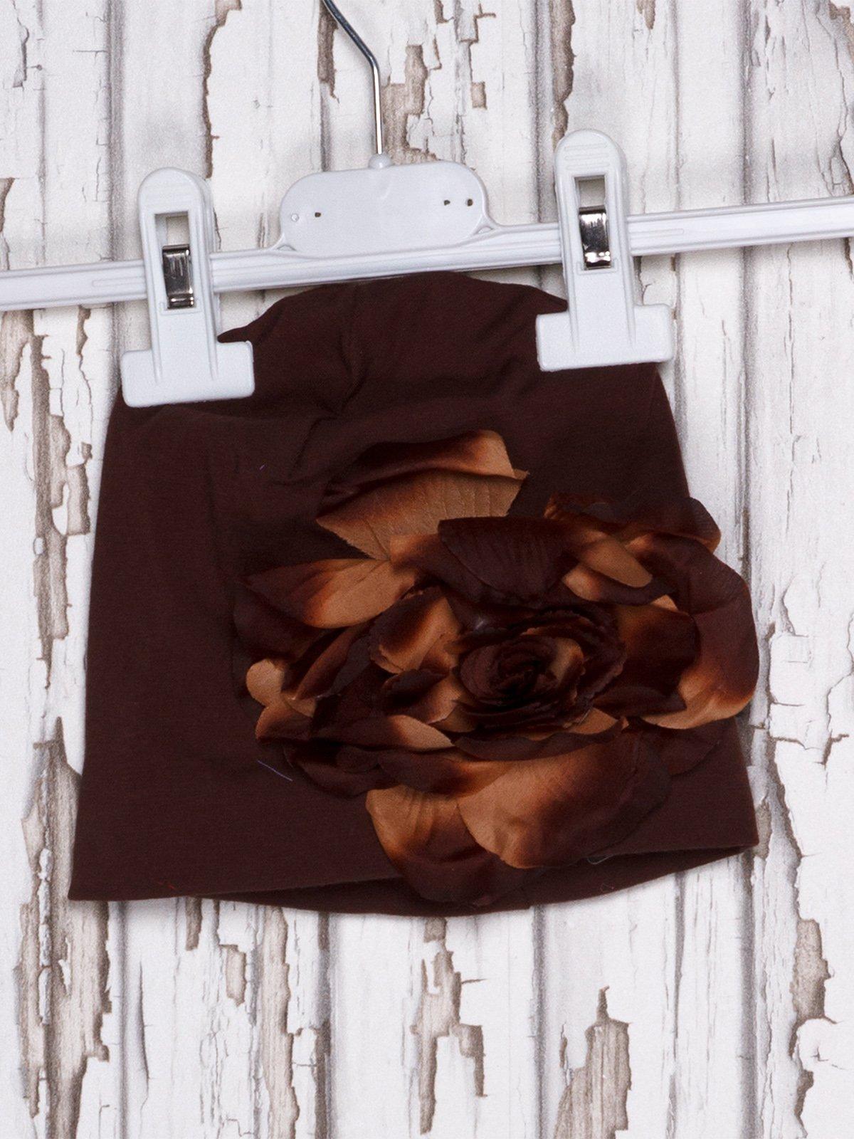 Шапка коричневая   919932