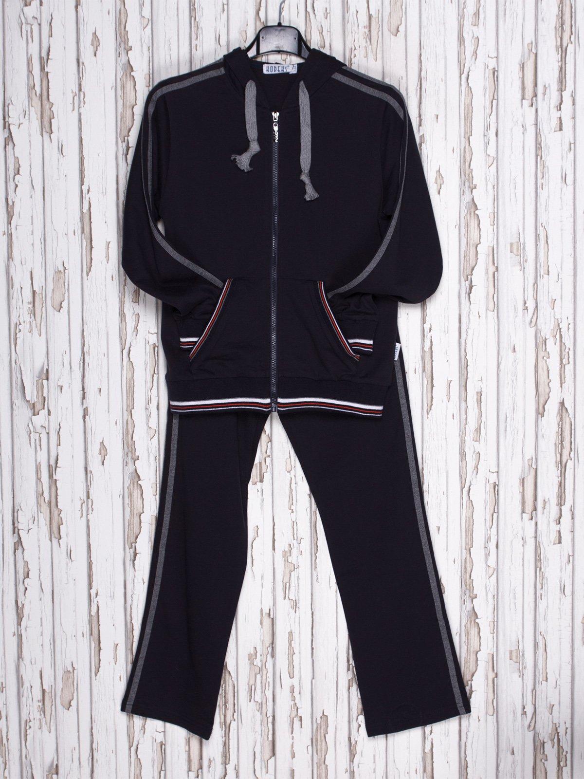 Костюм спортивный: толстовка и брюки | 558305