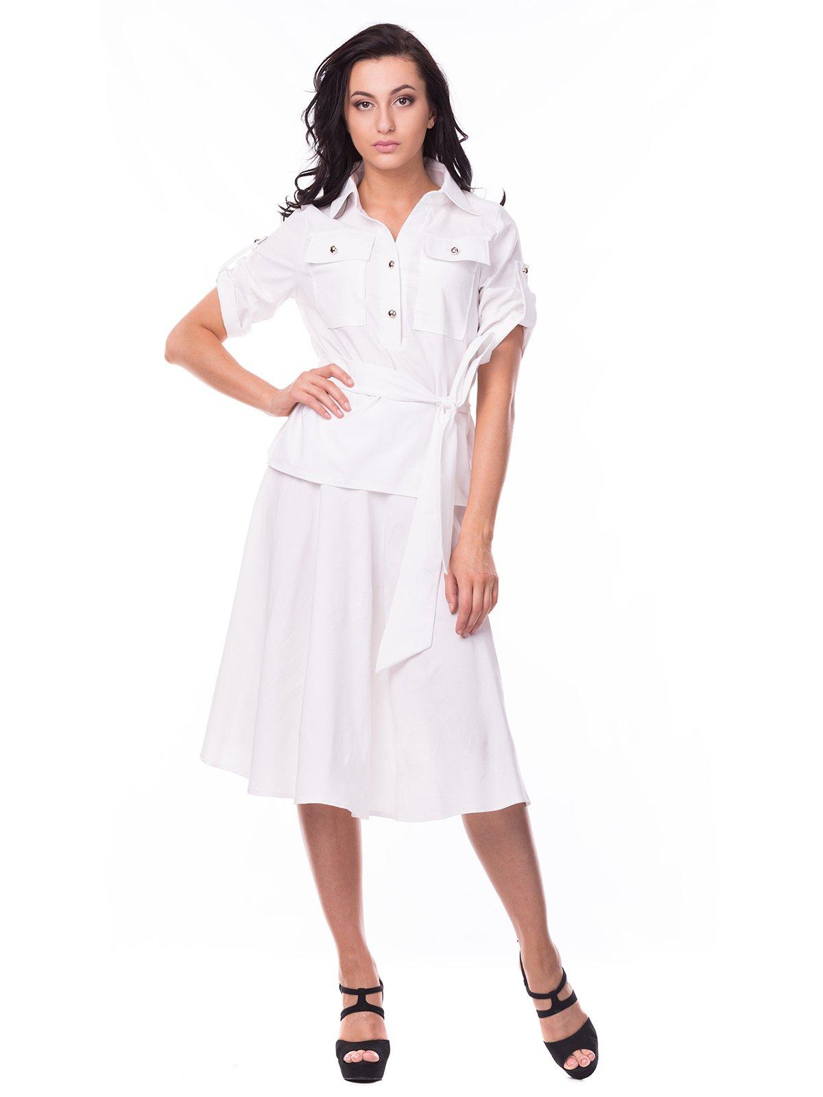 Костюм: юбка и блуза | 2379004