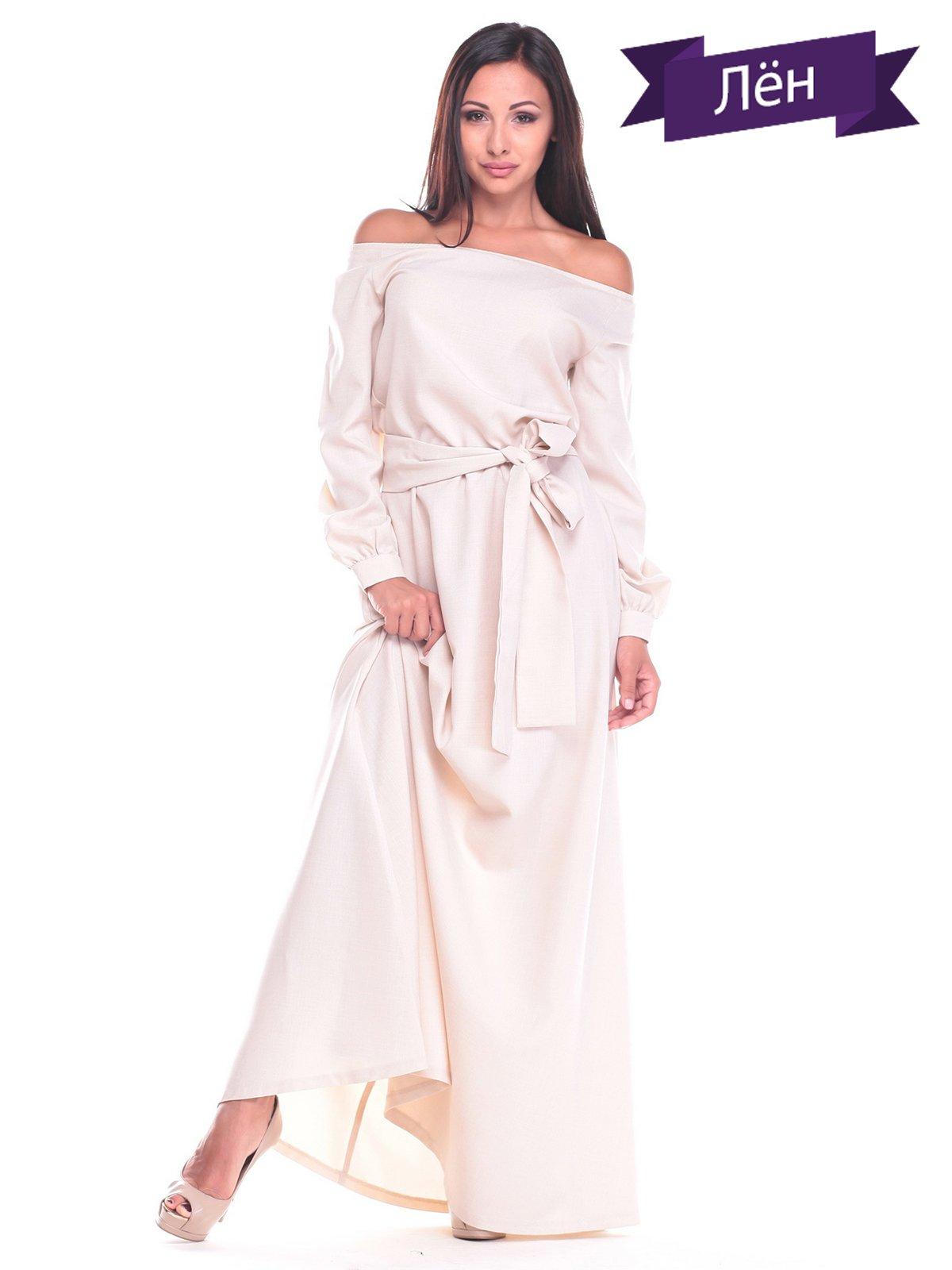 Платье светло-бежевое   2363321