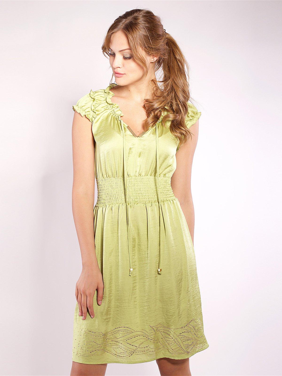 Сукня салатового кольору   2385986