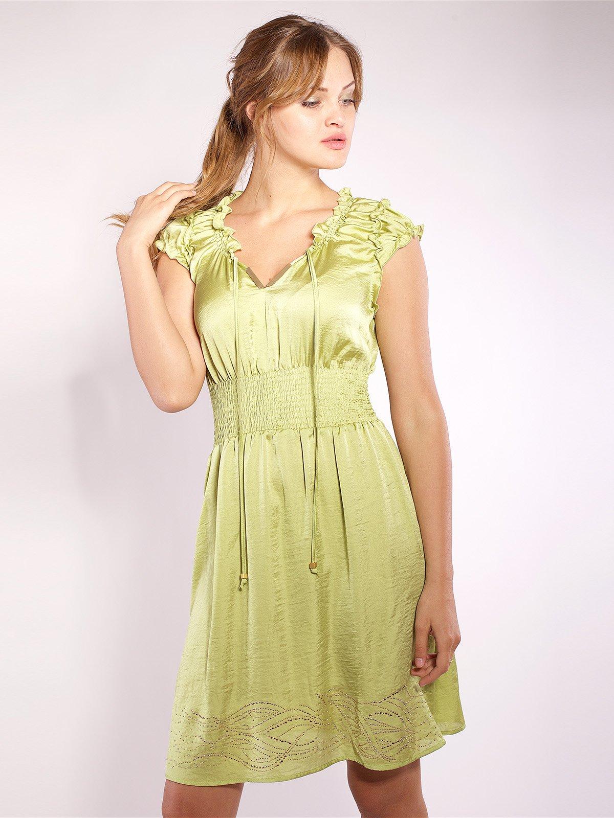 Сукня салатового кольору   2385986   фото 2