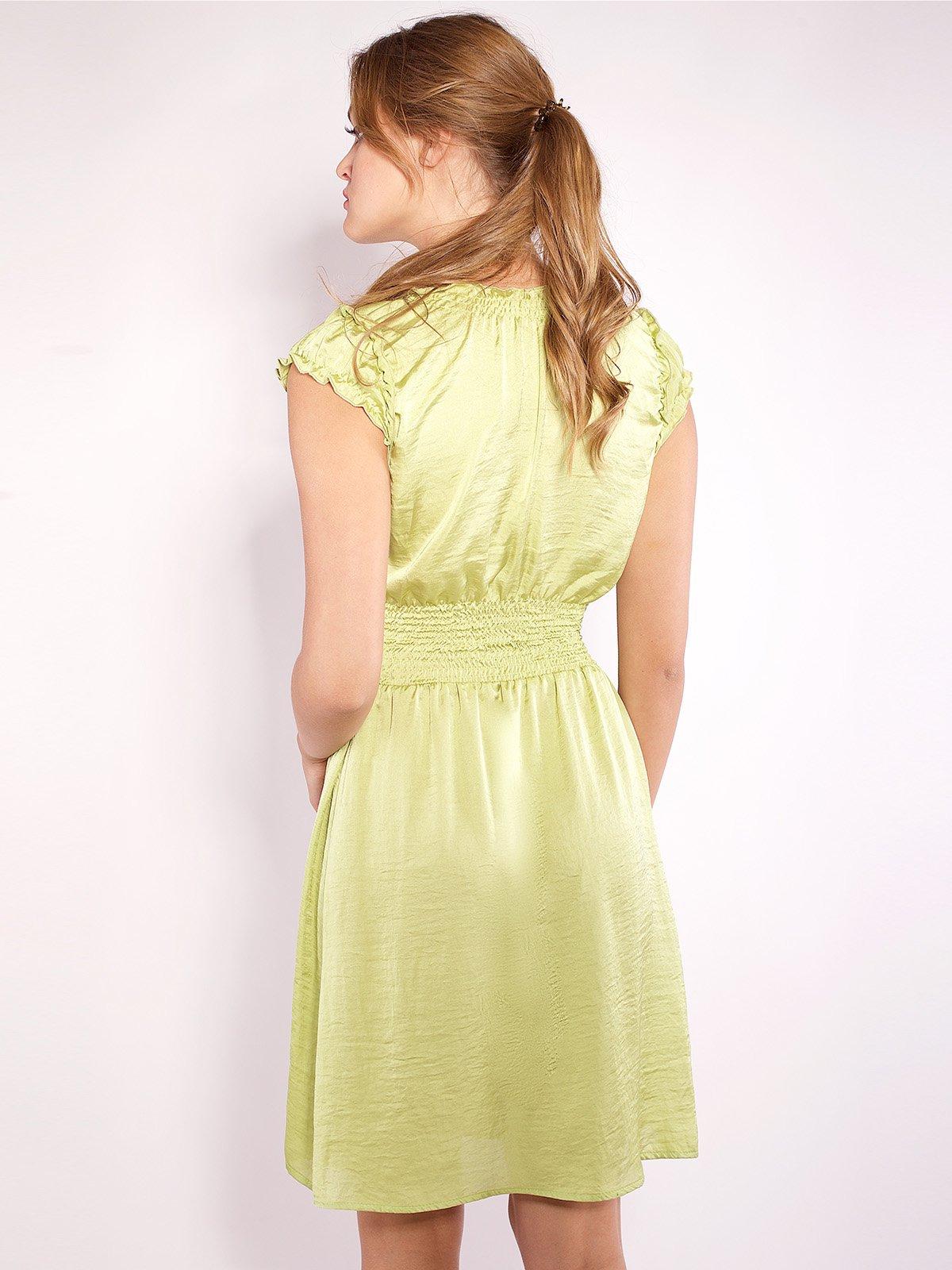 Сукня салатового кольору   2385986   фото 3