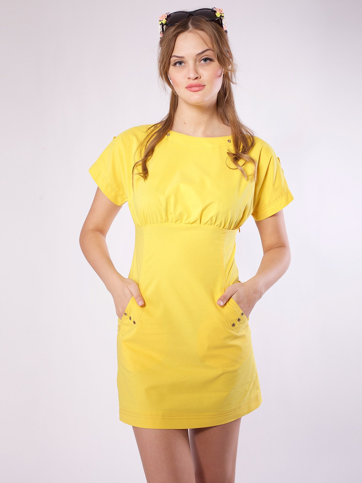 Сукня жовта   2386024   фото 2