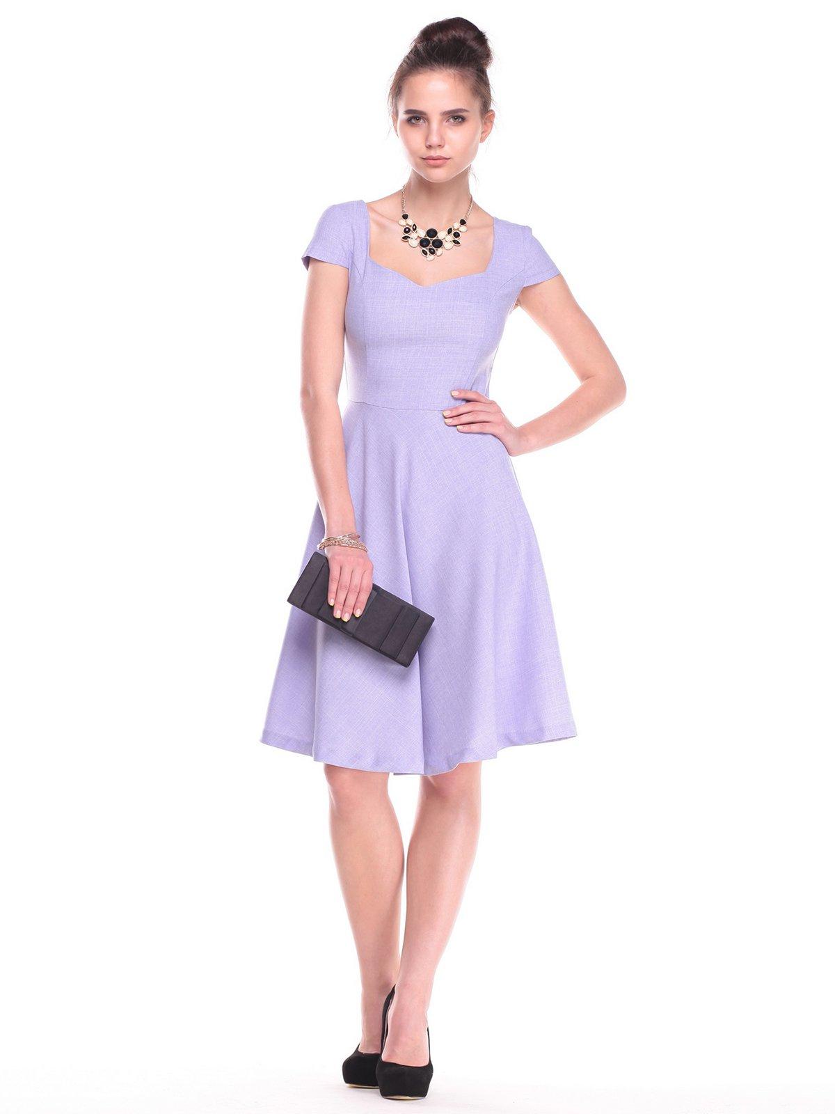 Платье сиреневое | 2387804