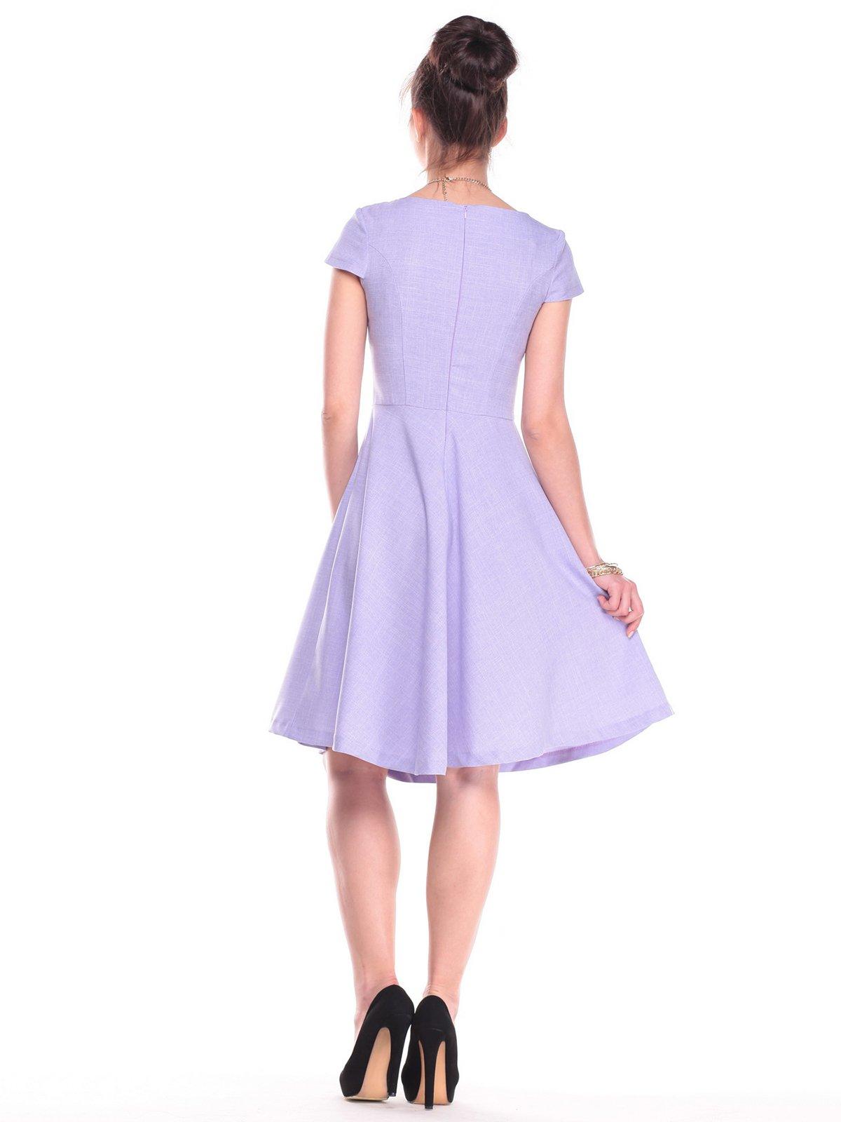 Платье сиреневое | 2387804 | фото 2