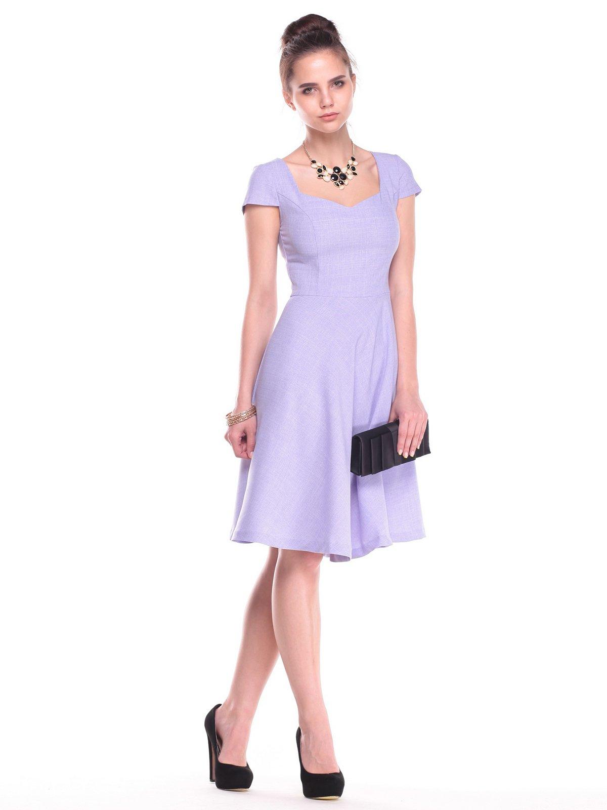 Платье сиреневое | 2387804 | фото 4