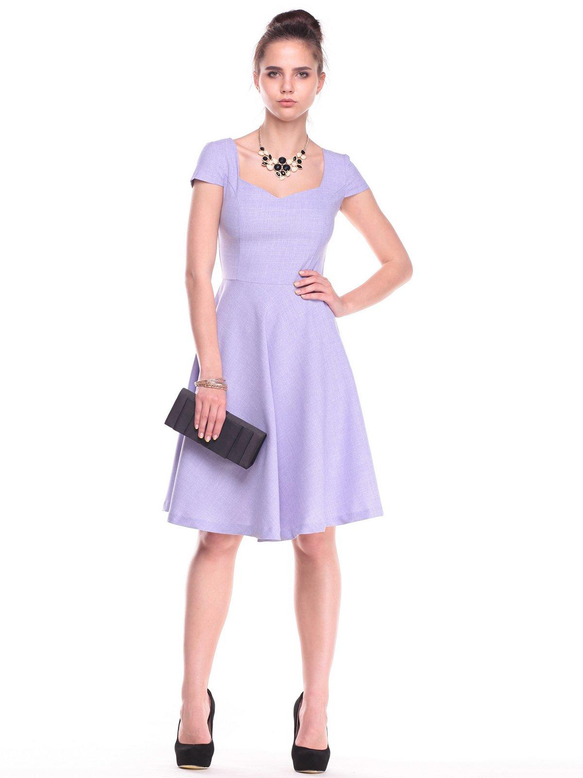 Платье сиреневое | 2387804 | фото 5