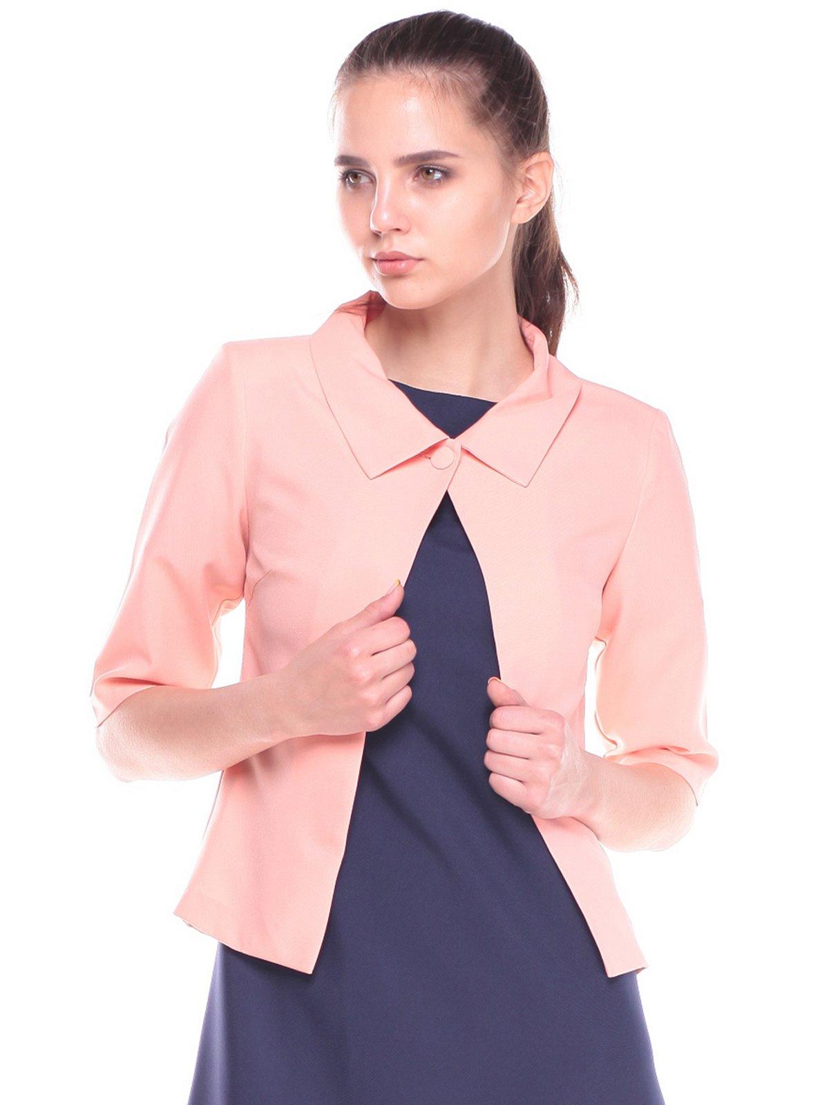 Жакет персикового цвета | 2387817