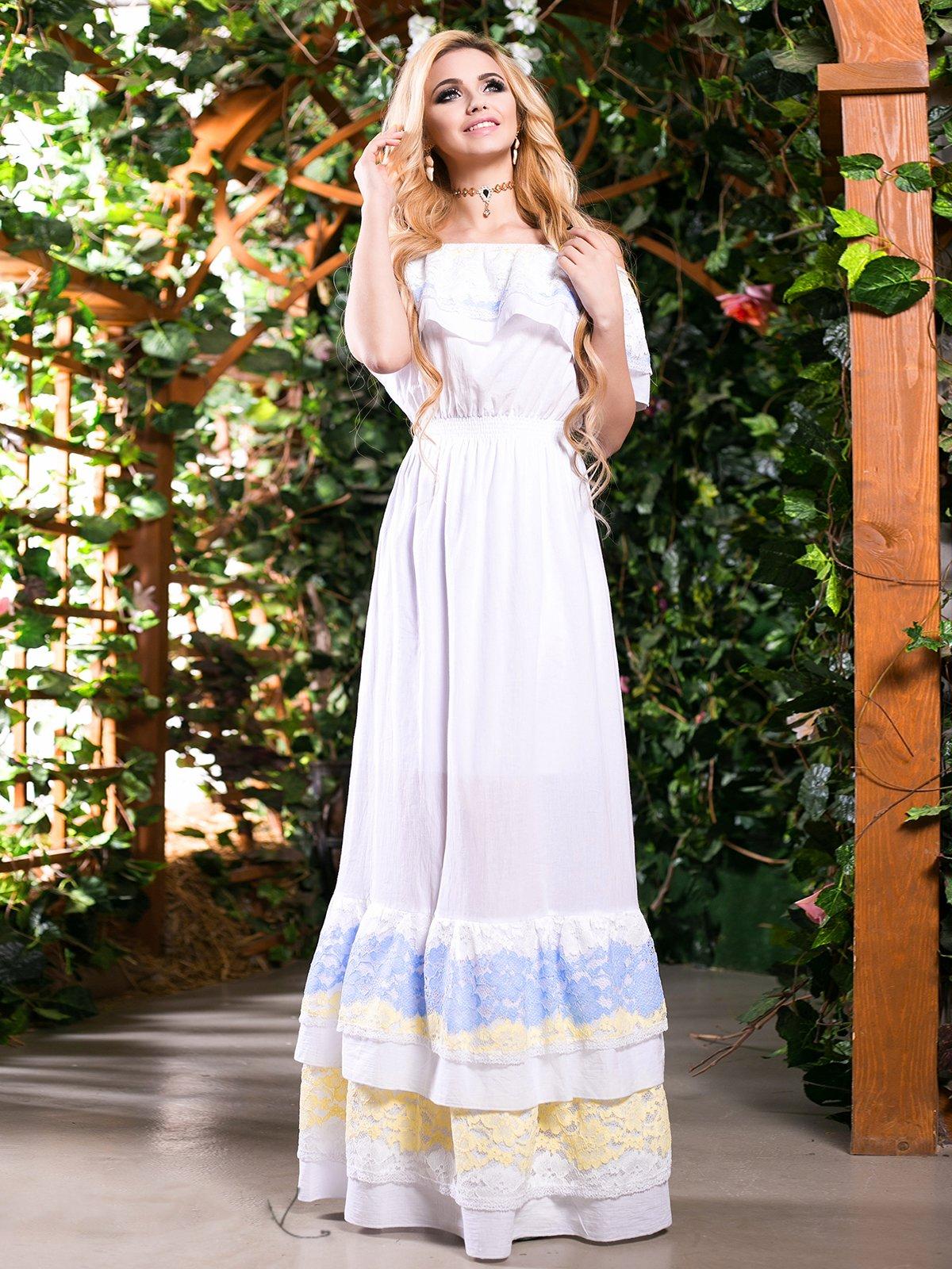 Платье белое   2401679