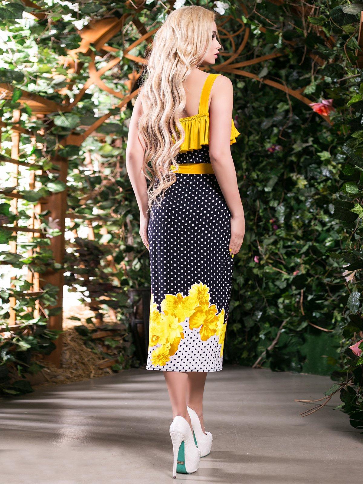 Сукня триколірна комбінованого забарвлення   2401709   фото 3
