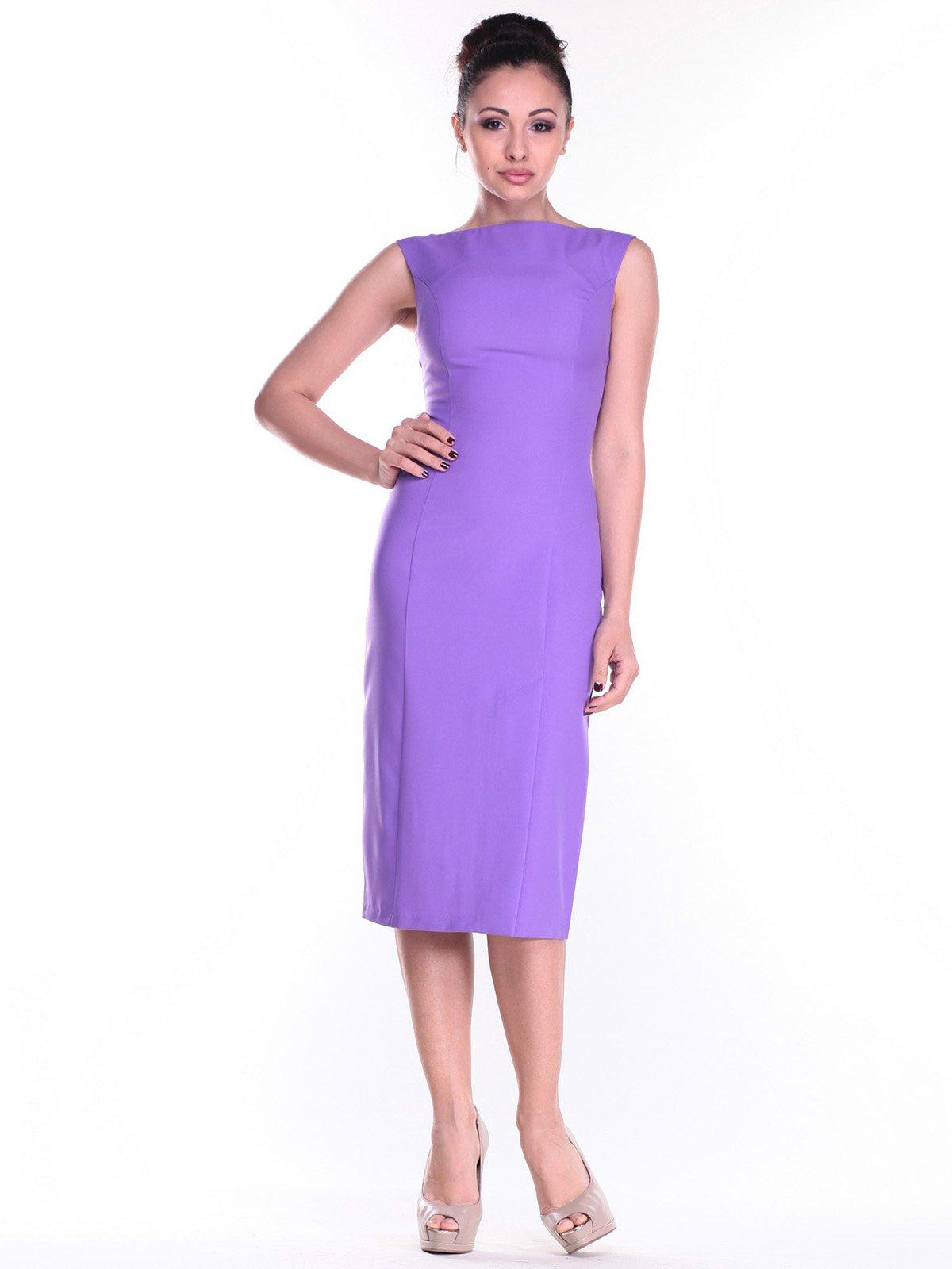 Сукня світло-фіалкового кольору | 2318523