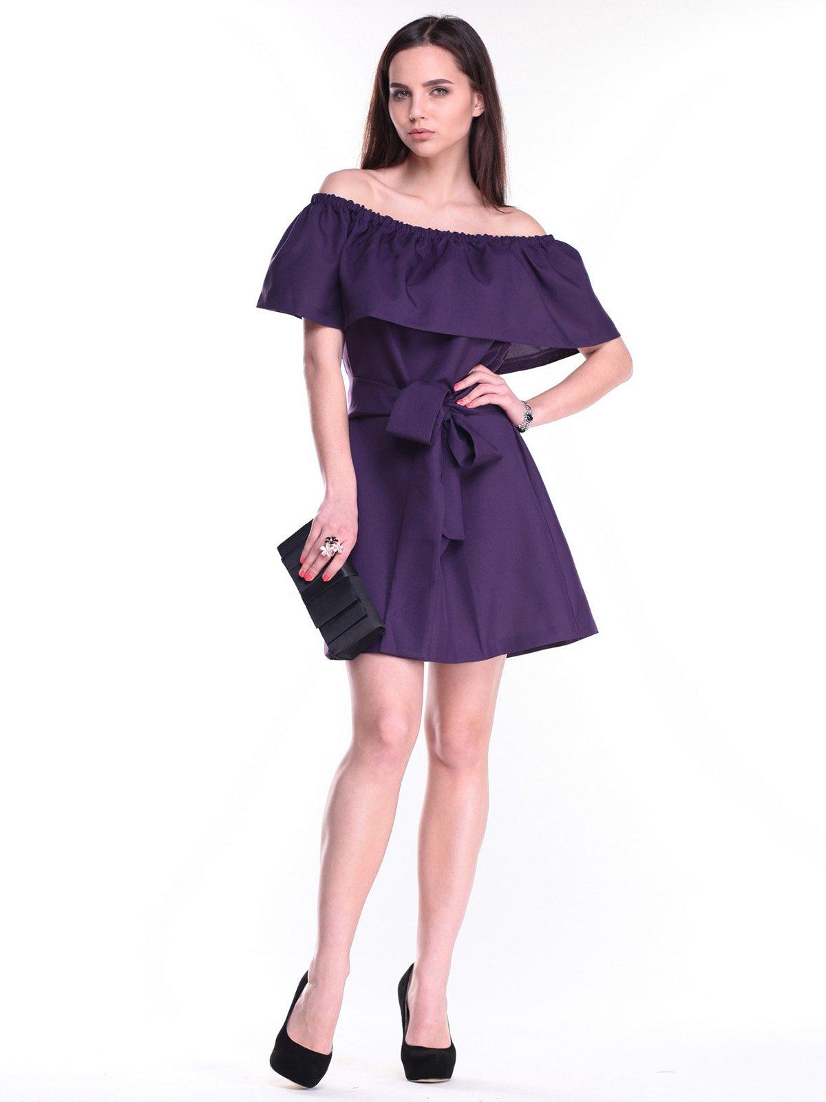 Сукня темно-фіолетова | 2318533