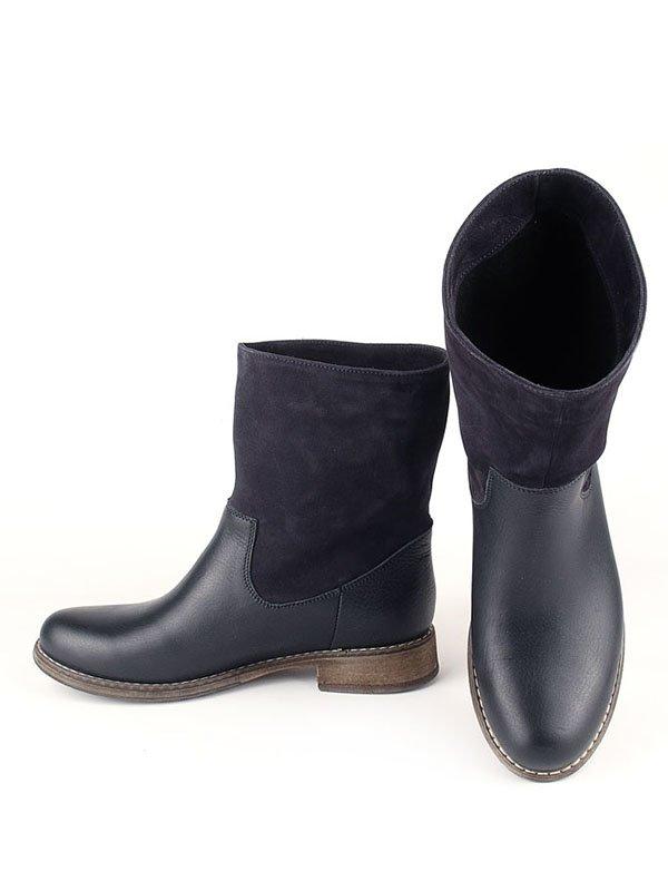 Ботинки синие | 2407765 | фото 3