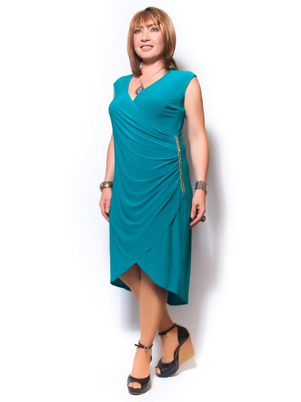 Платье бирюзовое | 2409798