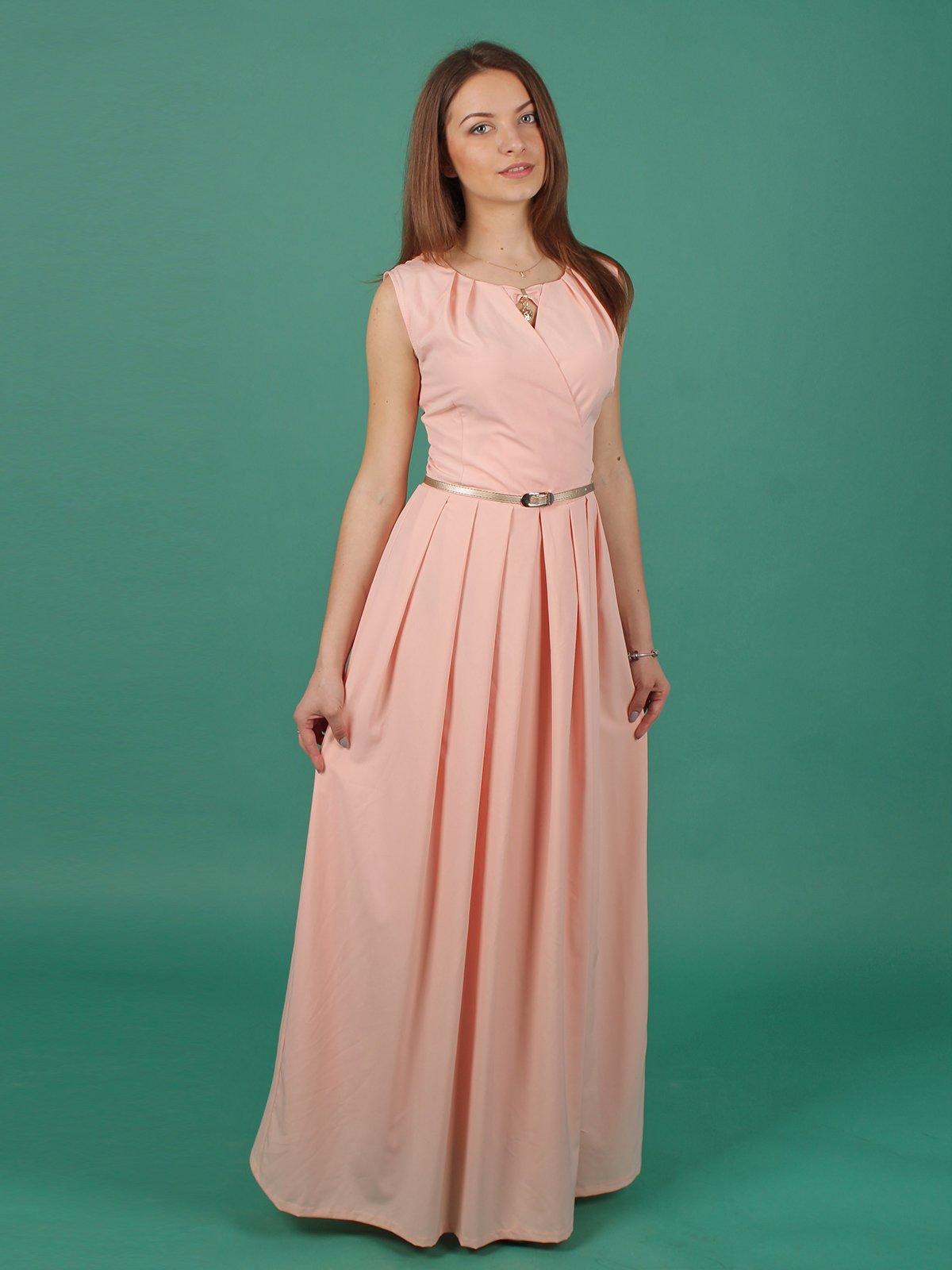 Платье персикового цвета | 2416744