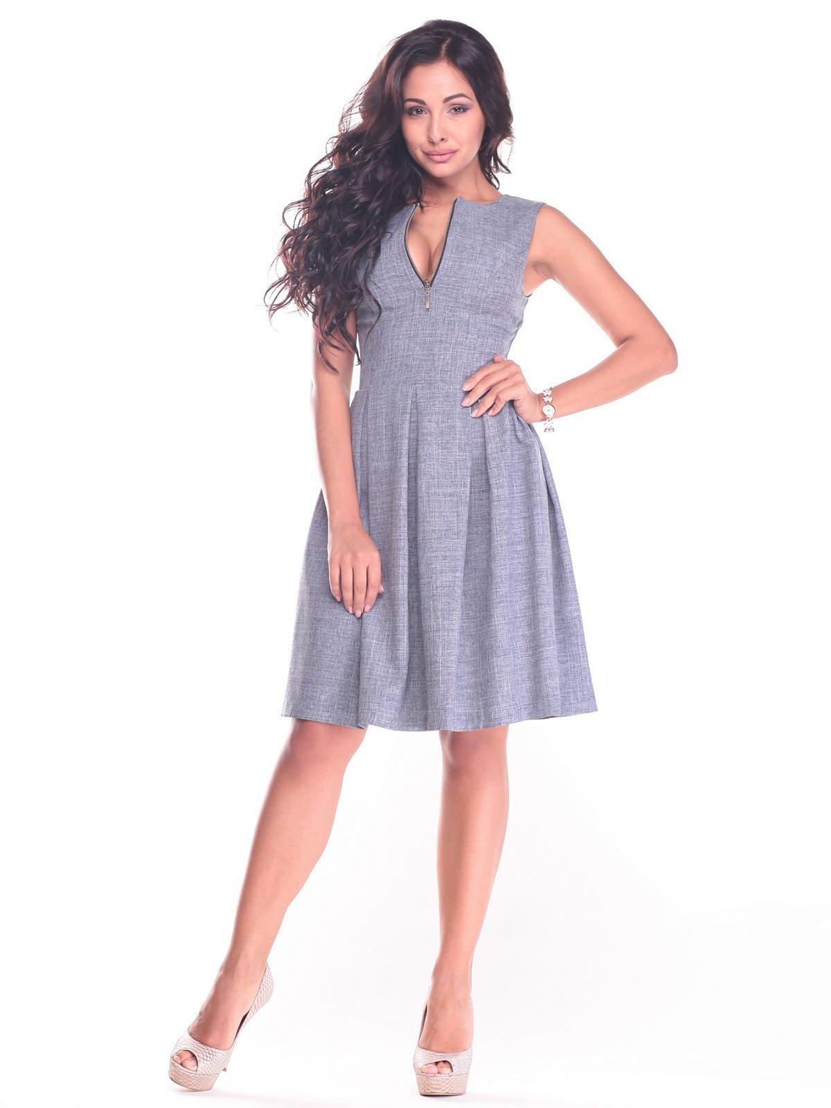 Платье дымчатого цвета | 2434429 | фото 5