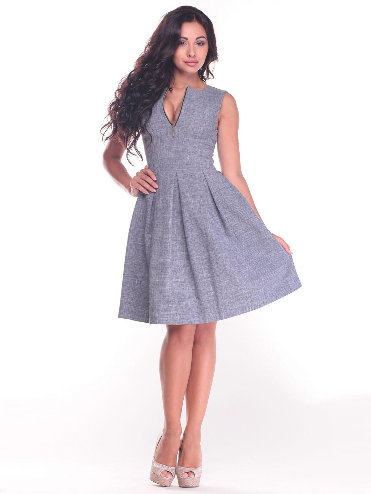 Платье дымчатого цвета | 2434429
